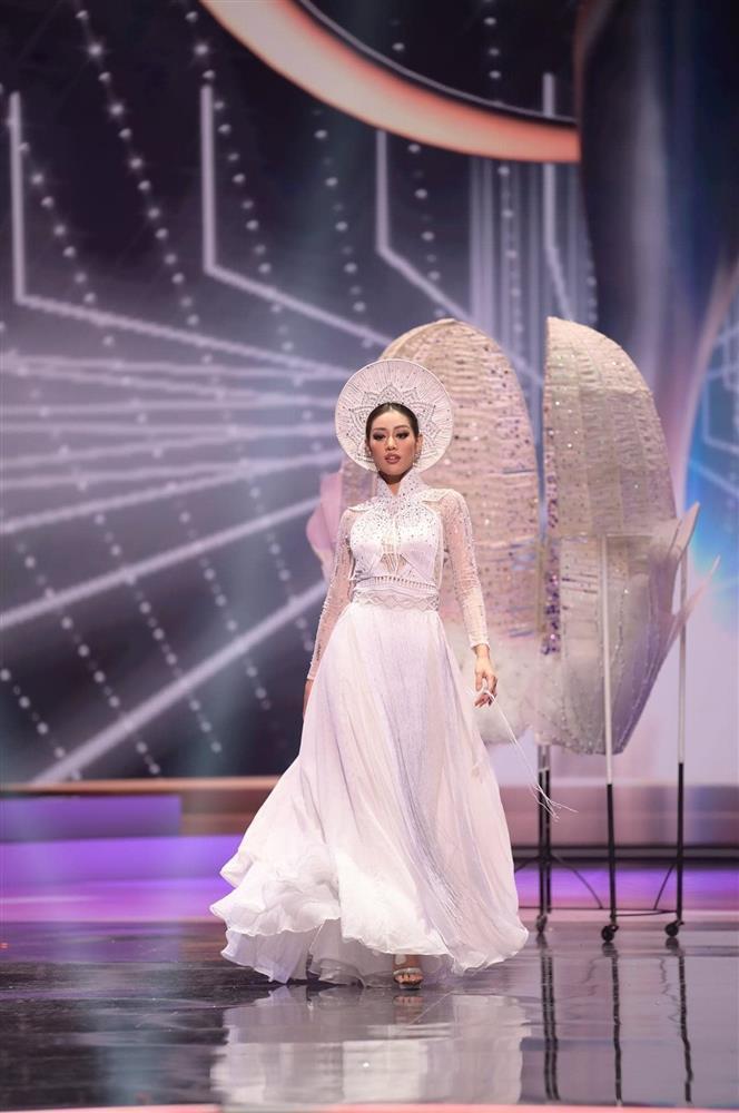Sao Việt nổi da gà khi xem Khánh Vân thi quốc phục Miss Universe 2020-7
