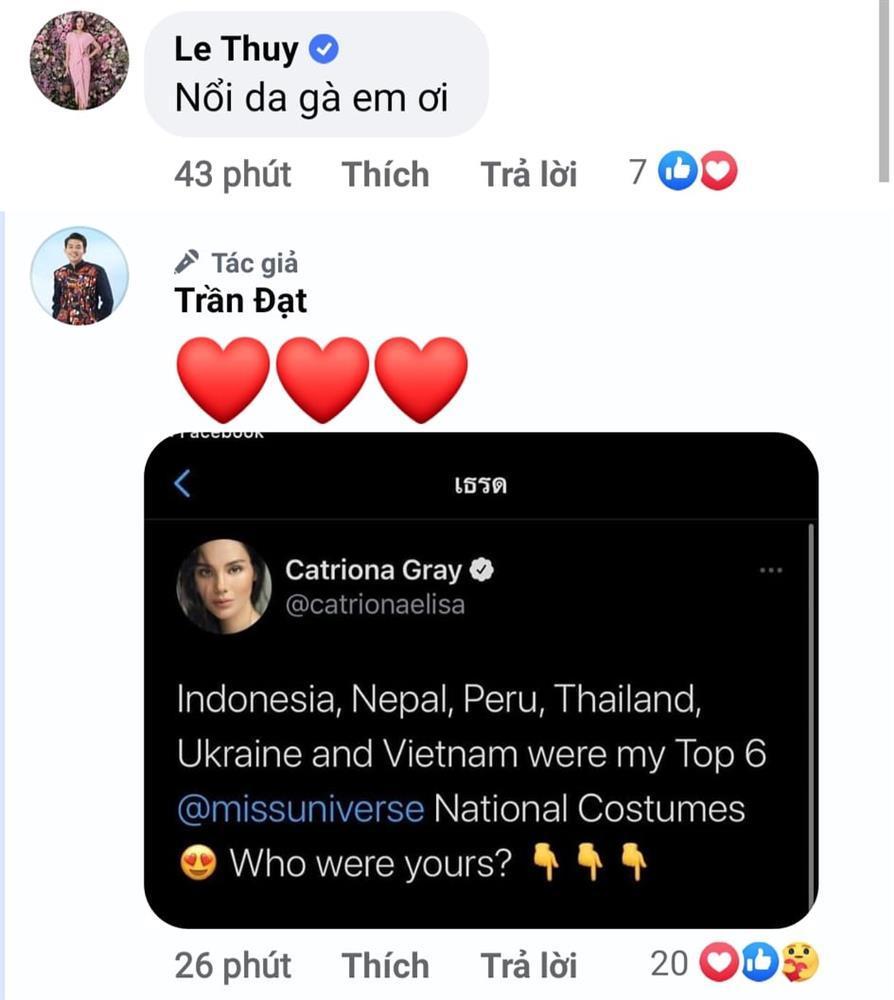 Sao Việt nổi da gà khi xem Khánh Vân thi quốc phục Miss Universe 2020-16