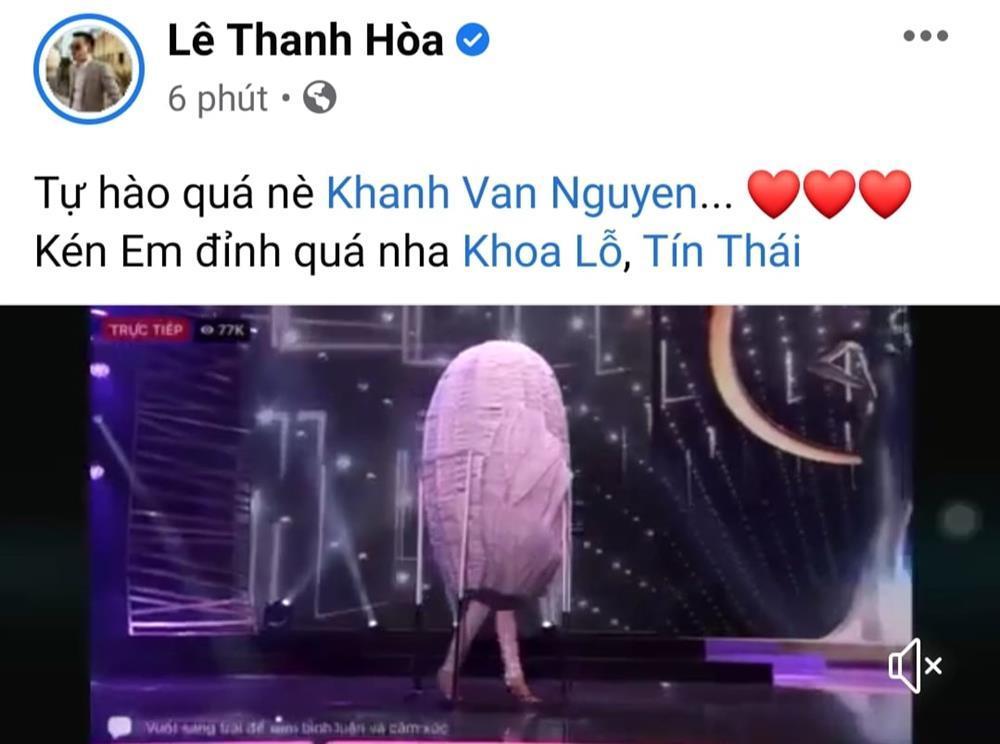 Sao Việt nổi da gà khi xem Khánh Vân thi quốc phục Miss Universe 2020-14