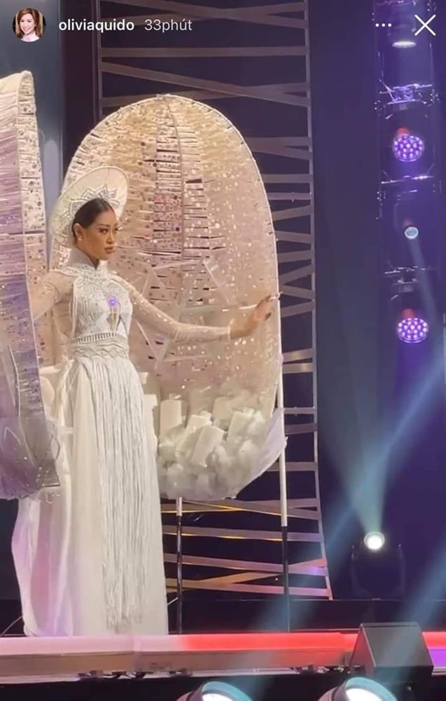 Sao Việt nổi da gà khi xem Khánh Vân thi quốc phục Miss Universe 2020-15