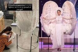 Pha xử lý đi vào lòng người của Khánh Vân khi 'Kén Em' gặp sự cố tại Miss Universe