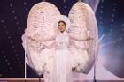 Sao Việt nổi da gà khi xem Khánh Vân thi quốc phục Miss Universe 2020