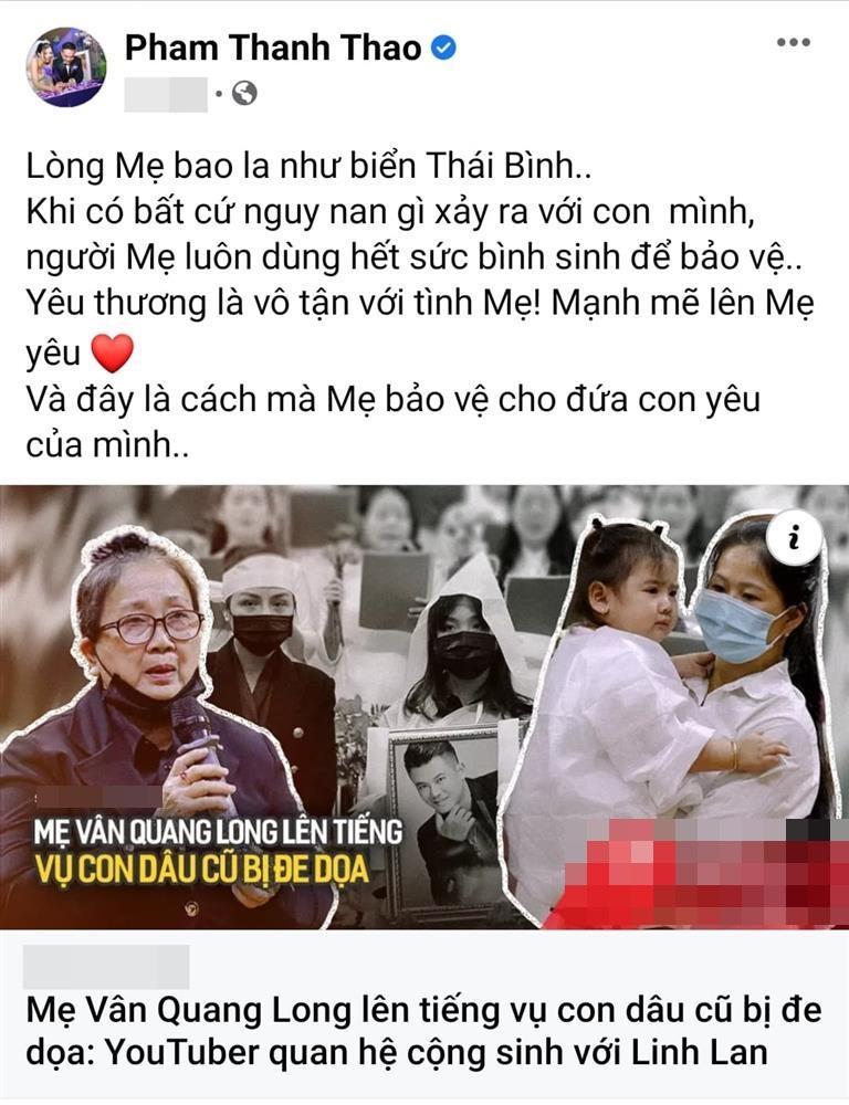 Phạm Thanh Thảo bị mắng vì can thiệp chuyện nhà Vân Quang Long-3
