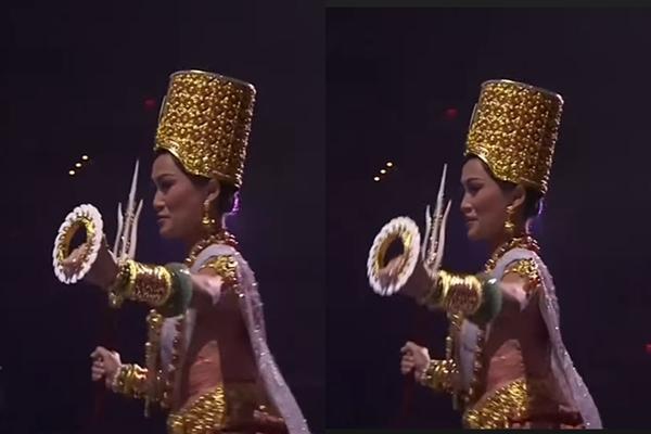 Thí sinh Miss Universe 2020 bị la ó vì thi quốc phục câu giờ-7