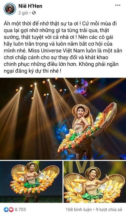 HHen Niê bị nhắc nhở thiếu tinh tế khi Khánh Vân thi quốc phục-1