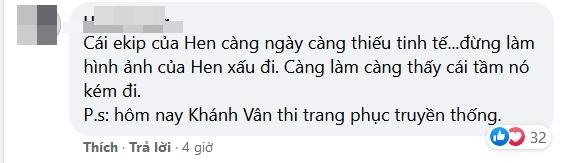 HHen Niê bị nhắc nhở thiếu tinh tế khi Khánh Vân thi quốc phục-5