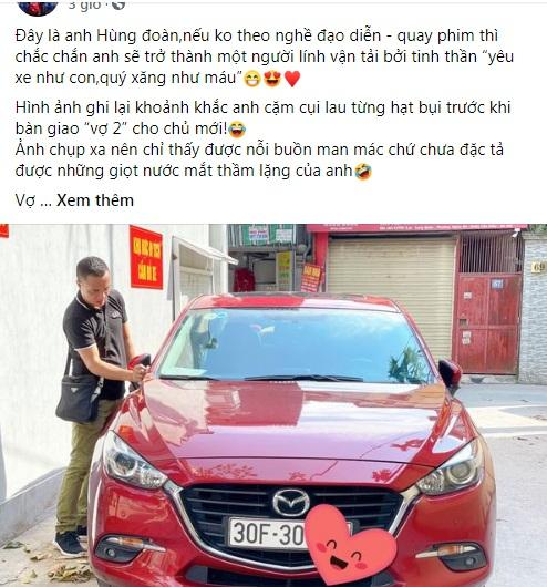 Tranh cãi vợ chồng MC Hoàng Linh hồn nhiên lau chùi xe nơi chốn tâm linh-1