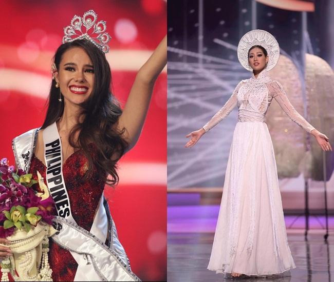 Miss Universe Catriona Gray bị chỉ trích vì loại thẳng quốc phục Philippines-2