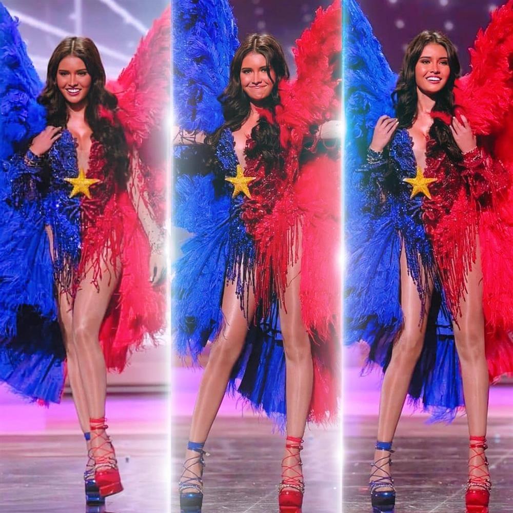 Miss Universe Catriona Gray bị chỉ trích vì loại thẳng quốc phục Philippines-3