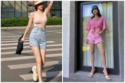 Hà Hồ - Kỳ Duyên diện quần shorts sành điệu, các nàng học ngay chỉ có đẹp hết ý!