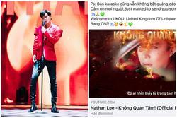 Nathan Lee chiều fan nhất quả đất, mở cuộc thi hát dở vì 'hát dở rất kute'