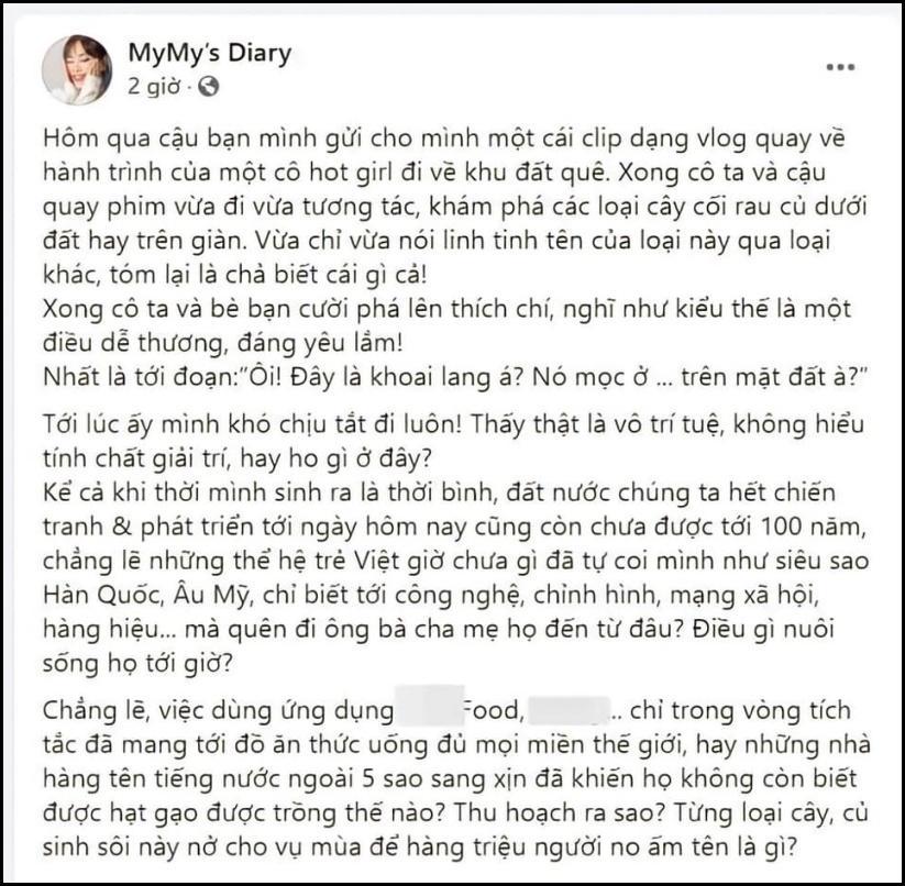 Chị em Hà Anh mỉa mai hotgirl không kiến thức, Chi Pu bị réo tên-1