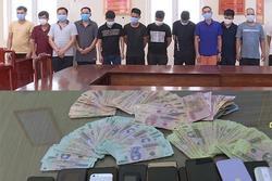 Bắc Ninh: 13 con bạc say sưa sát phạt nhau khi dịch Covid-19 trong tỉnh đang nóng