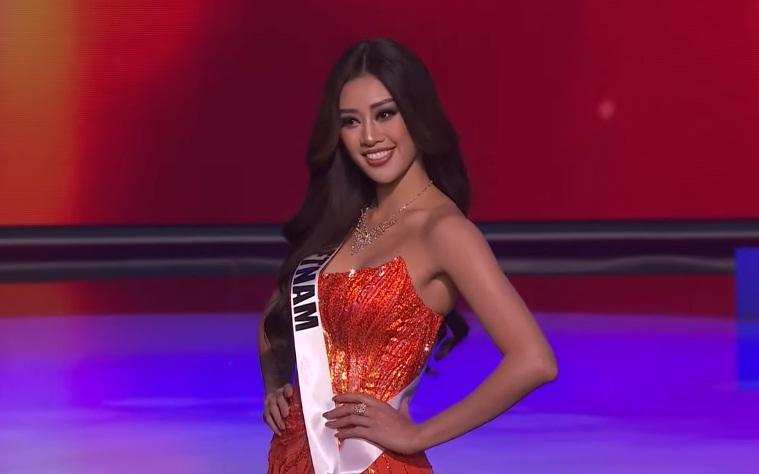 Khánh Vân thi bán kết Miss Universe 2020: Bikini gợi cảm, dạ hội xuất thần-33