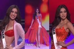 Khánh Vân thi bán kết Miss Universe 2020: Bikini gợi cảm, dạ hội xuất thần