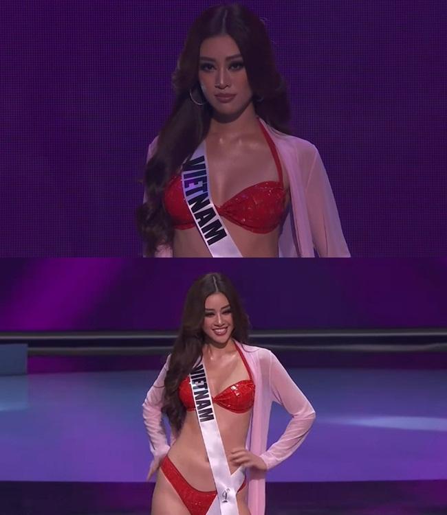 Khánh Vân thi bán kết Miss Universe 2020, dàn sao Việt dậy sóng-1