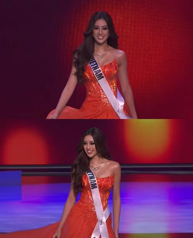 Khánh Vân thi bán kết Miss Universe 2020, dàn sao Việt dậy sóng-3