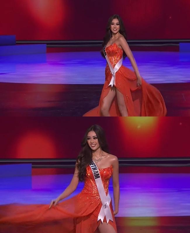 Khánh Vân thi bán kết Miss Universe 2020, dàn sao Việt dậy sóng-4