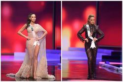 Thí sinh diện trang phục dạ hội xuyên thấu lộ nội y ở bán kết Miss Universe