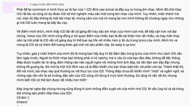 Quán quân King Of Rap ICD: Người khen bánh cuốn, kẻ chê mất chất-6
