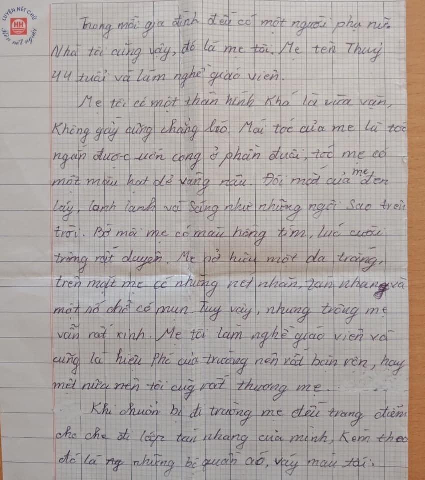 Nhóc tiểu học làm văn bóc phốt mẹ, đọc câu chốt mới hiếm có khó tìm-6