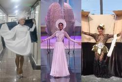 Quốc phục 'Kén Em' của Khánh Vân ở Miss Universe bị nhái phản cảm