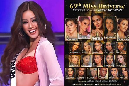 Missosology đoán Khánh Vân trắng tay chung kết Miss Universe 2020
