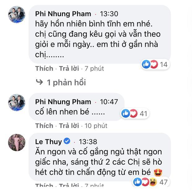 Khánh Vân livestream 15 phút kỷ lục triệu view, dàn sao Vbiz rôm rả động viên-5