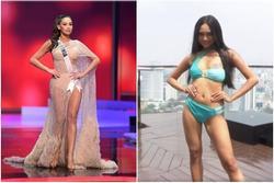 Những pha 'lộ hàng' kém duyên của thí sinh Hoa hậu trên đấu trường nhan sắc
