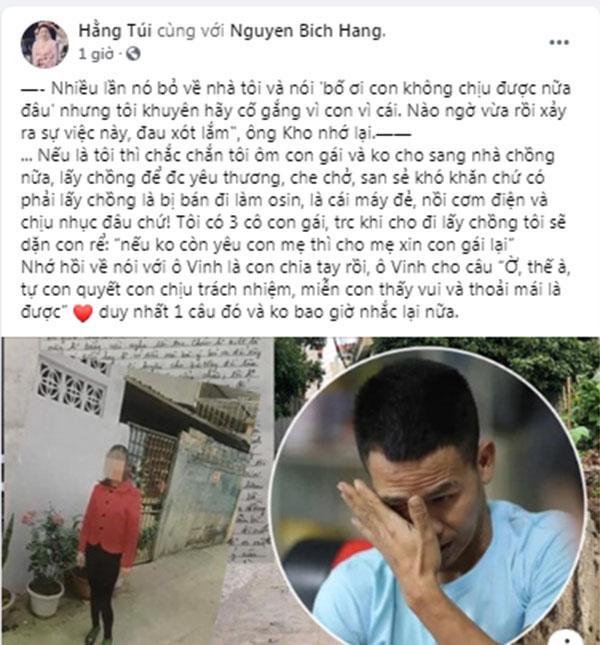 Chị họ Nguyễn Ngọc Mạnh tử vong, Hằng Túi kể lại vụ ly hôn chồng cũ-2