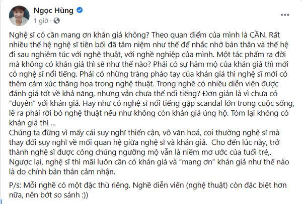 Sao Việt tranh luận nảy lửa phát ngôn khán giả không nuôi nghệ sĩ-3