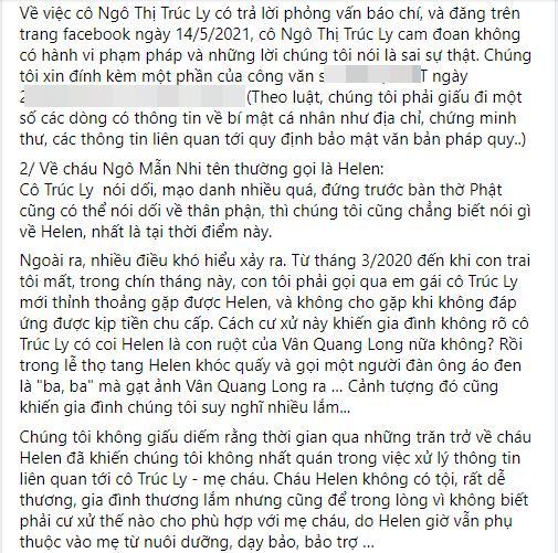 Bố mẹ Vân Quang Long trăn trở thân thế con gái Linh Lan-6