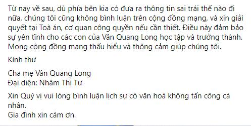 Bố mẹ Vân Quang Long trăn trở thân thế con gái Linh Lan-8