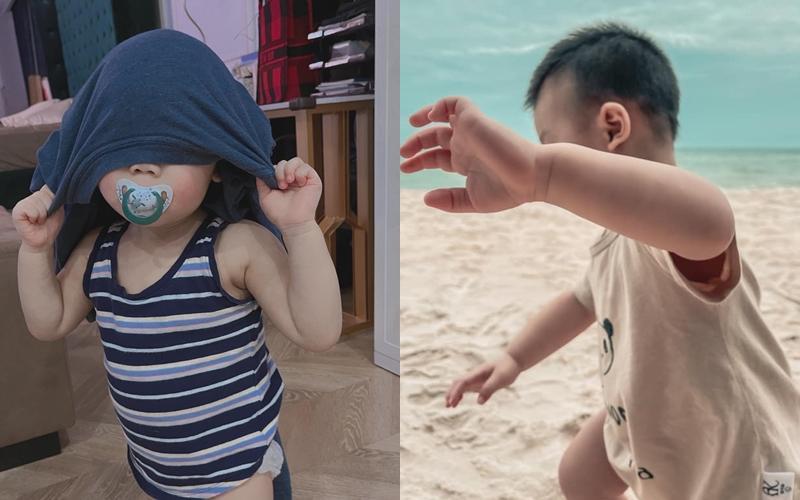 Ngoại hình thay đổi của con trai Lan Khuê khi 1 tuổi rưỡi-2