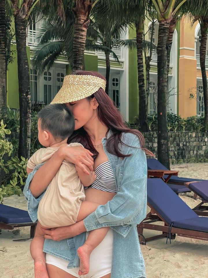 Ngoại hình thay đổi của con trai Lan Khuê khi 1 tuổi rưỡi-3