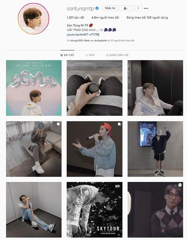 Jack bắt bài Sơn Tùng M-TP xóa trắng ảnh trên Instagram: Rình rập comeback?-4