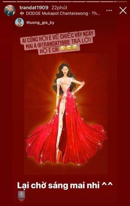 Tranh cãi đầm dạ hội Khánh Vân chọn mặc ở chung kết Miss Universe-1