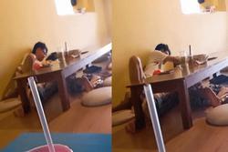 Thanh niên đòi hôn hít, sờ soạng bạn gái ở quán nước, khách xung quanh cạn lời