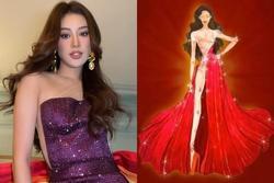 Tranh cãi đầm dạ hội Khánh Vân chọn mặc ở chung kết Miss Universe