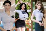 Hot trend mặc áo sơ mi bung cúc giới trẻ đam mê: Sexy hay phản cảm?
