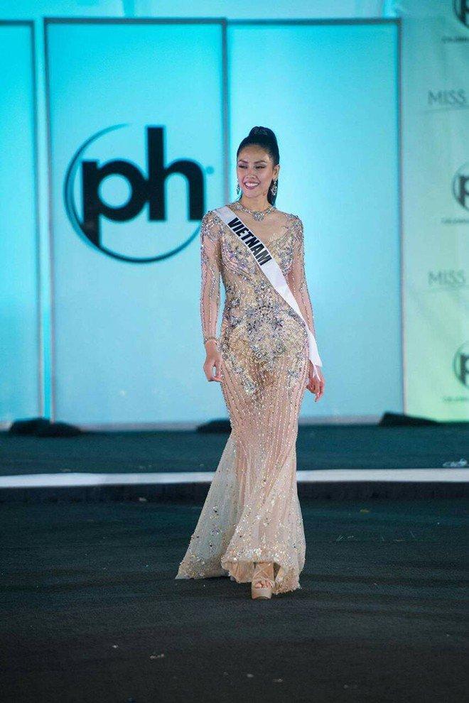 Mỹ nhân Việt thi bán kết Miss Universe: Váy ai đỉnh của chóp?-5