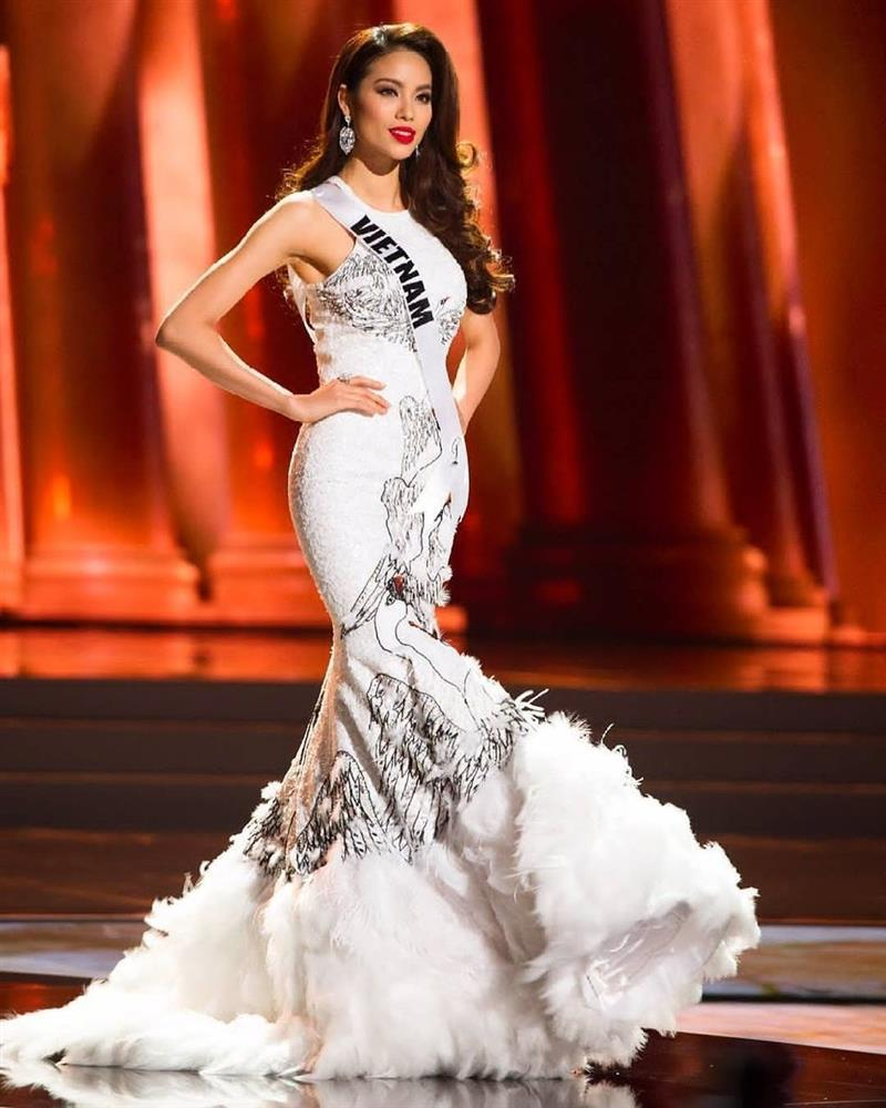 Mỹ nhân Việt thi bán kết Miss Universe: Váy ai đỉnh của chóp?-7