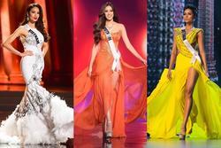 Mỹ nhân Việt thi bán kết Miss Universe: Váy ai 'đỉnh của chóp'?