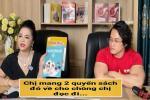 Con nuôi Hoài Linh nhắn bà Phương Hằng: 'Chị mang sách cho chồng đọc đi'
