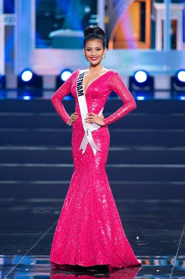 Mỹ nhân Việt thi bán kết Miss Universe: Váy ai đỉnh của chóp?-8