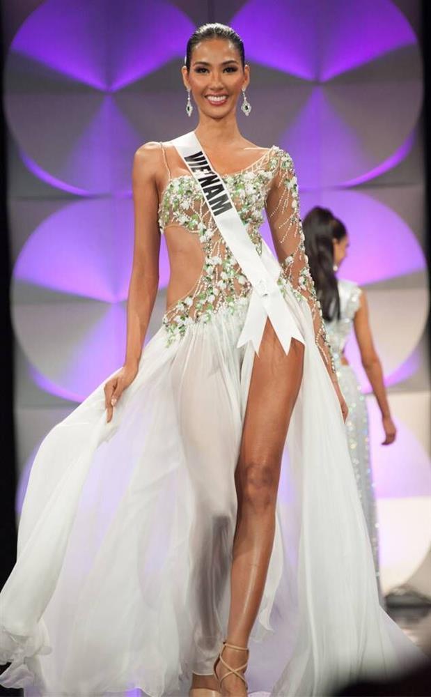 Mỹ nhân Việt thi bán kết Miss Universe: Váy ai đỉnh của chóp?-3