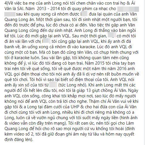 Linh Lan nổi giận khi bố mẹ Vân Quang Long nghi ngờ huyết thống cháu gái-7