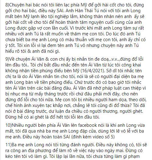 Linh Lan nổi giận khi bố mẹ Vân Quang Long nghi ngờ huyết thống cháu gái-9