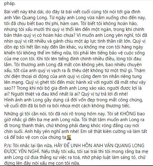 Linh Lan nổi giận khi bố mẹ Vân Quang Long nghi ngờ huyết thống cháu gái-10
