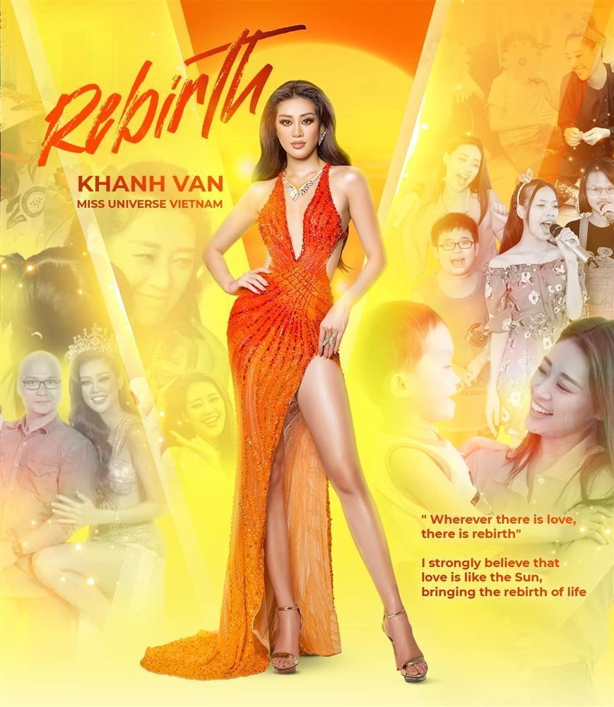 Điều thú vị về bộ đầm Khánh Vân mặc trong chung kết Miss Universe 2020-2